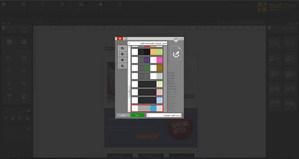 مصمم النشرة MAILSTYLER - لوحات الألوان
