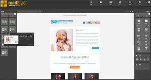 Mailstyler Newsletter Creator - 主屏幕