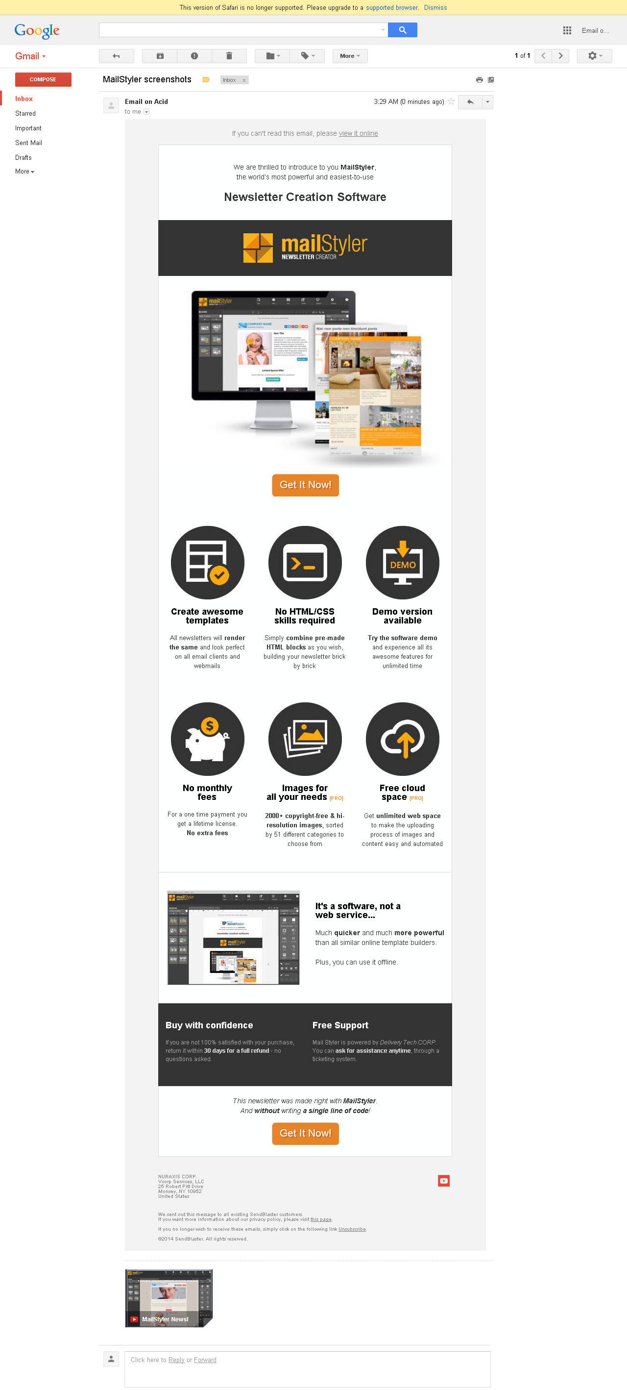 Newsletter Template Compatibility Test Newsletter Creator