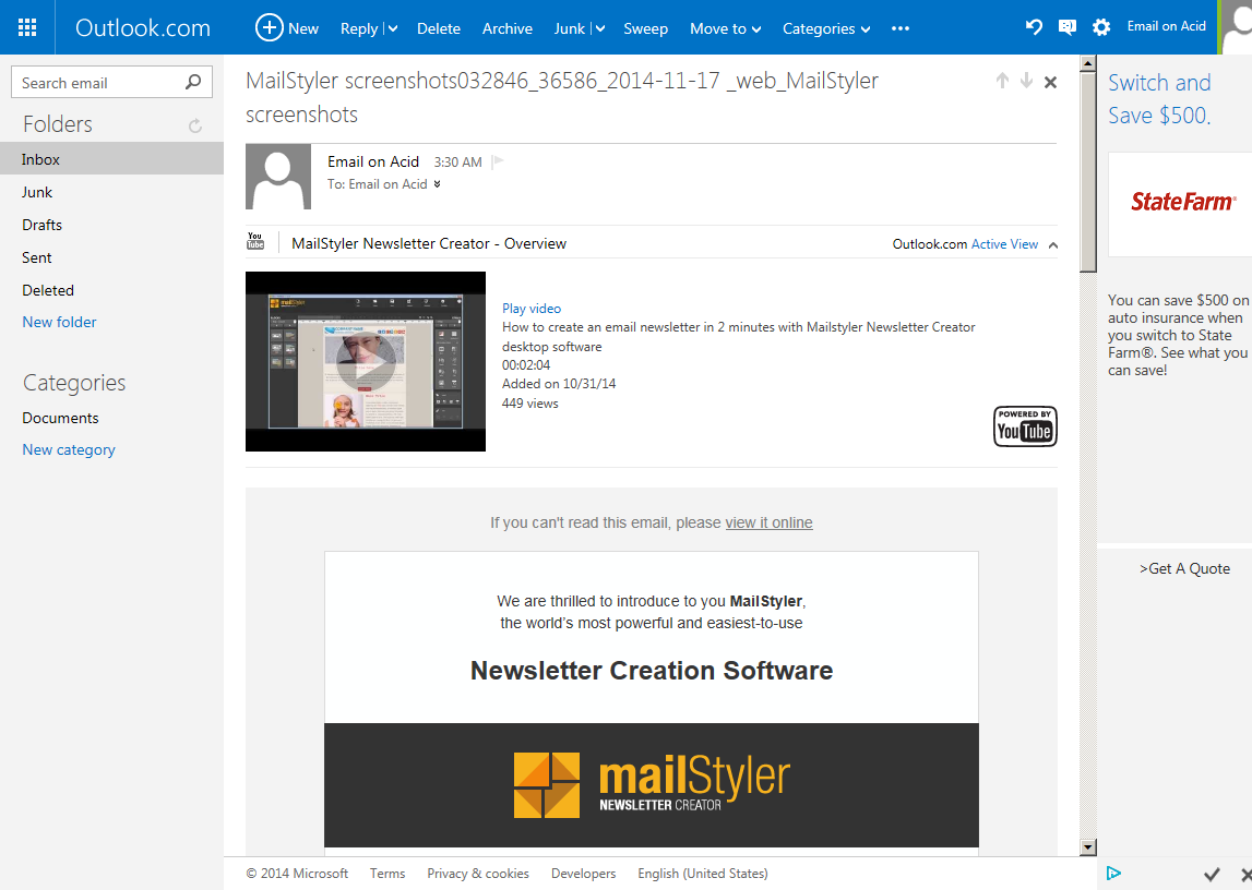 Newsletter Template Compatibility Test Newsletter Creator - Outlook newsletter template