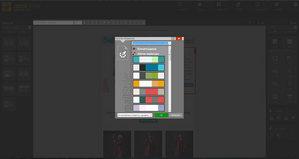 Mailstyler Newsletter Creator - Παλέτες χρωμάτων