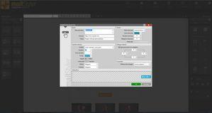 Mailstyler Newsletter Creator - Propiedades de botón