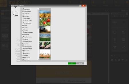 Mailstyler Newsletter Creator - Biblioteca de imágenes