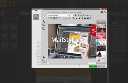 Mailstyler Newsletter Creator - Filtri e livelli immagini