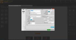 Mailstyler Newsletter Creator - Knop eigenschappen