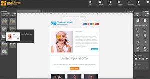Realizator de Buletine Informative MailStyler - Ecranul de start
