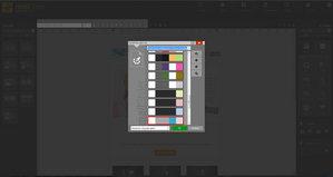Конструктор информационных рассылок MailStyler - Палитры цветов