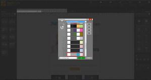 MailStyler Nyhetsbrev Designer - Färgpaletter
