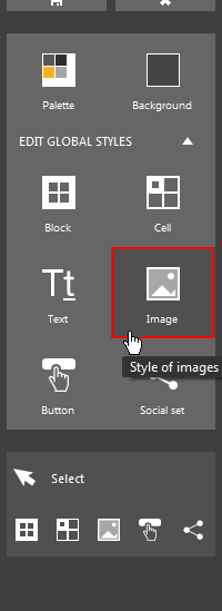 Image style button