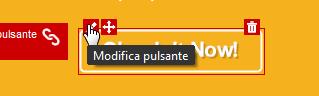 Icona Modifica pulsante