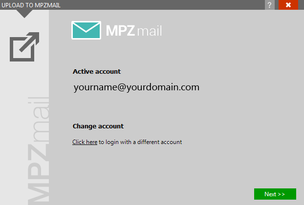 MPZMail plugin cached credentials
