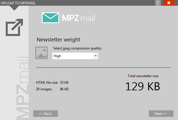 MPZMail plugin newsletter weight