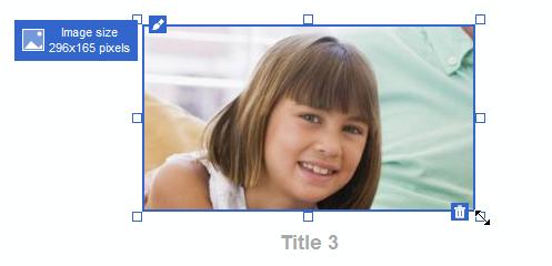 L'image après une redimension avec le découpage automatique