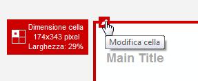Icona Modifica cella
