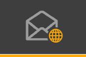 Compatível com todos os clientes de e-mail, programas e serviços