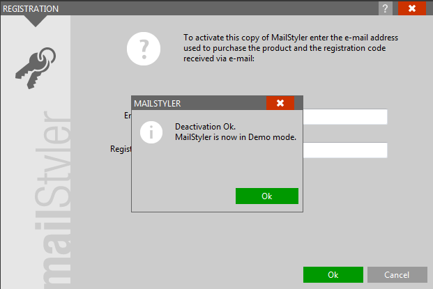 MailStyler Deactivation 2