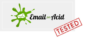 Probado en Email on Acid