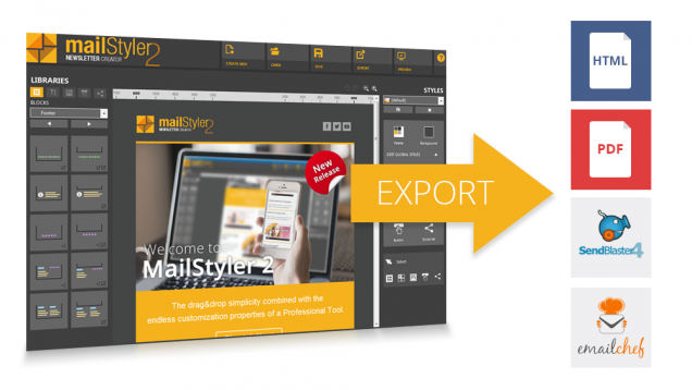 Exporting your templates with mailstyler 2 newsletter creator spiritdancerdesigns Images
