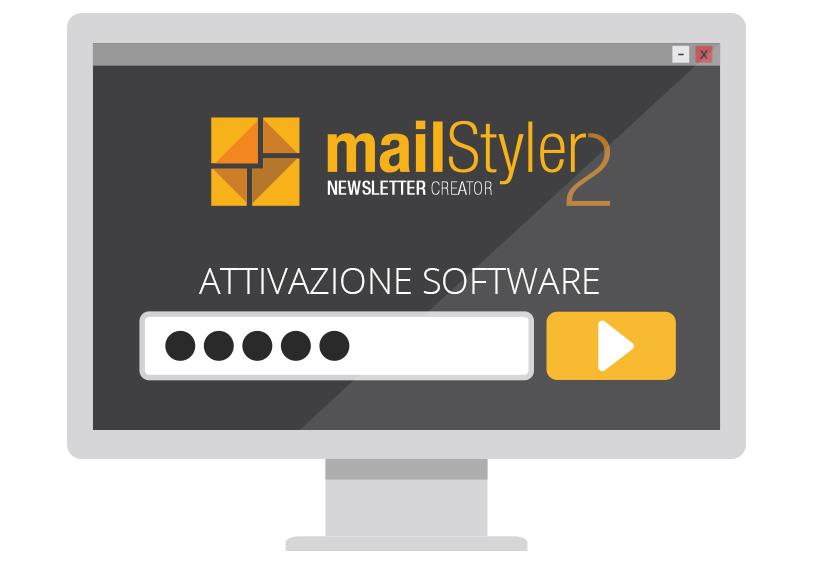 codice attivazione mailstyler