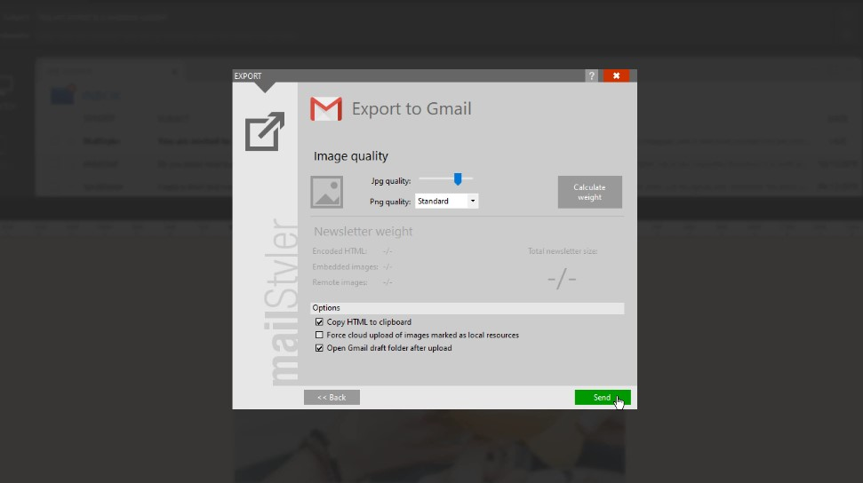 create email templates in gmail